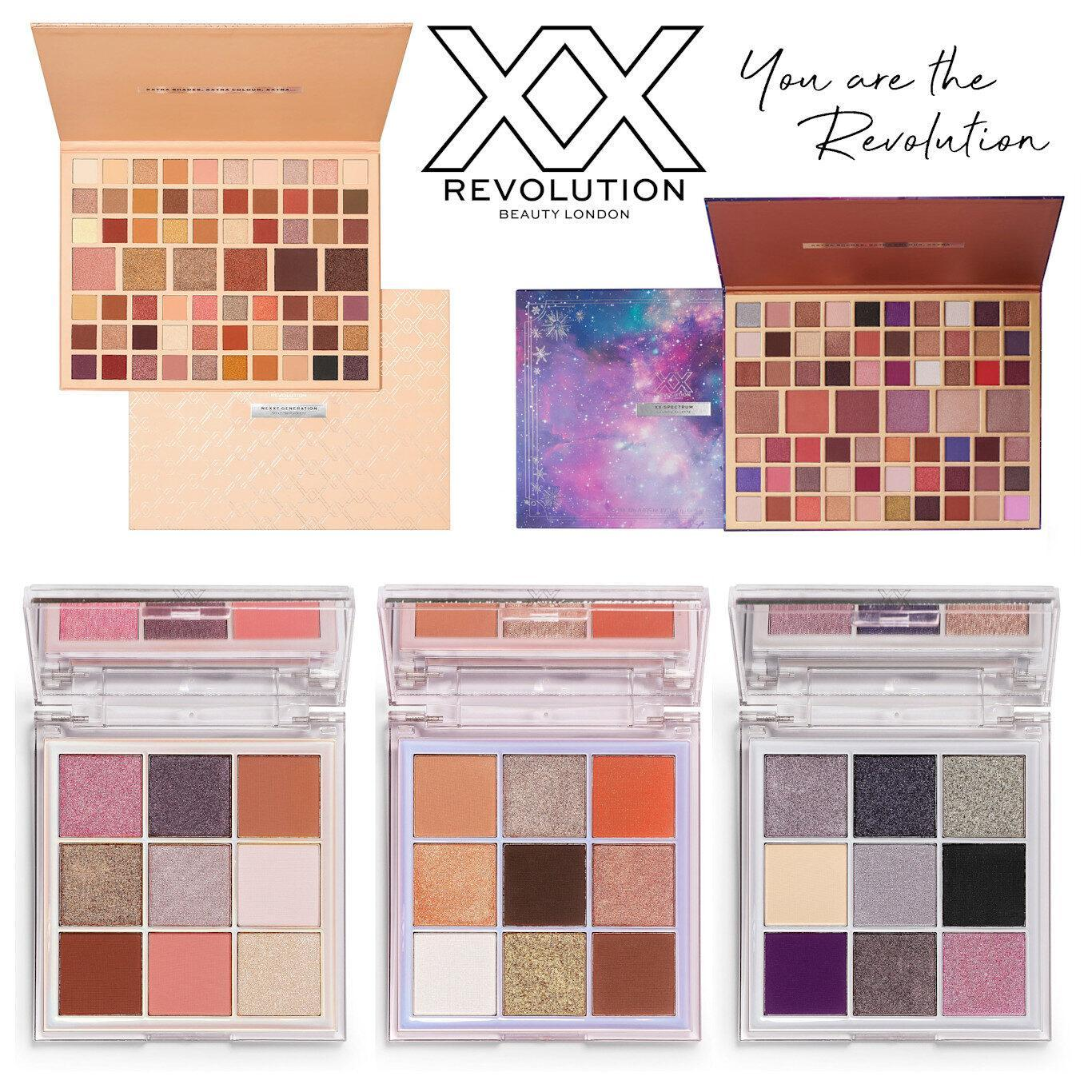 XX Revolution New Eyeshadow Palettes October 2020 Post Cover