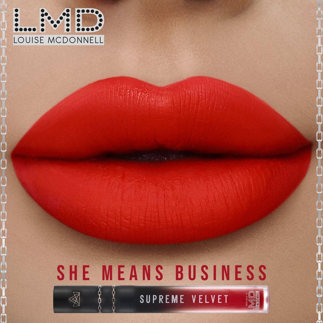 BPerfect Cosmetics Supreme Velvet Liquid Matte Lipstick In She Means Business