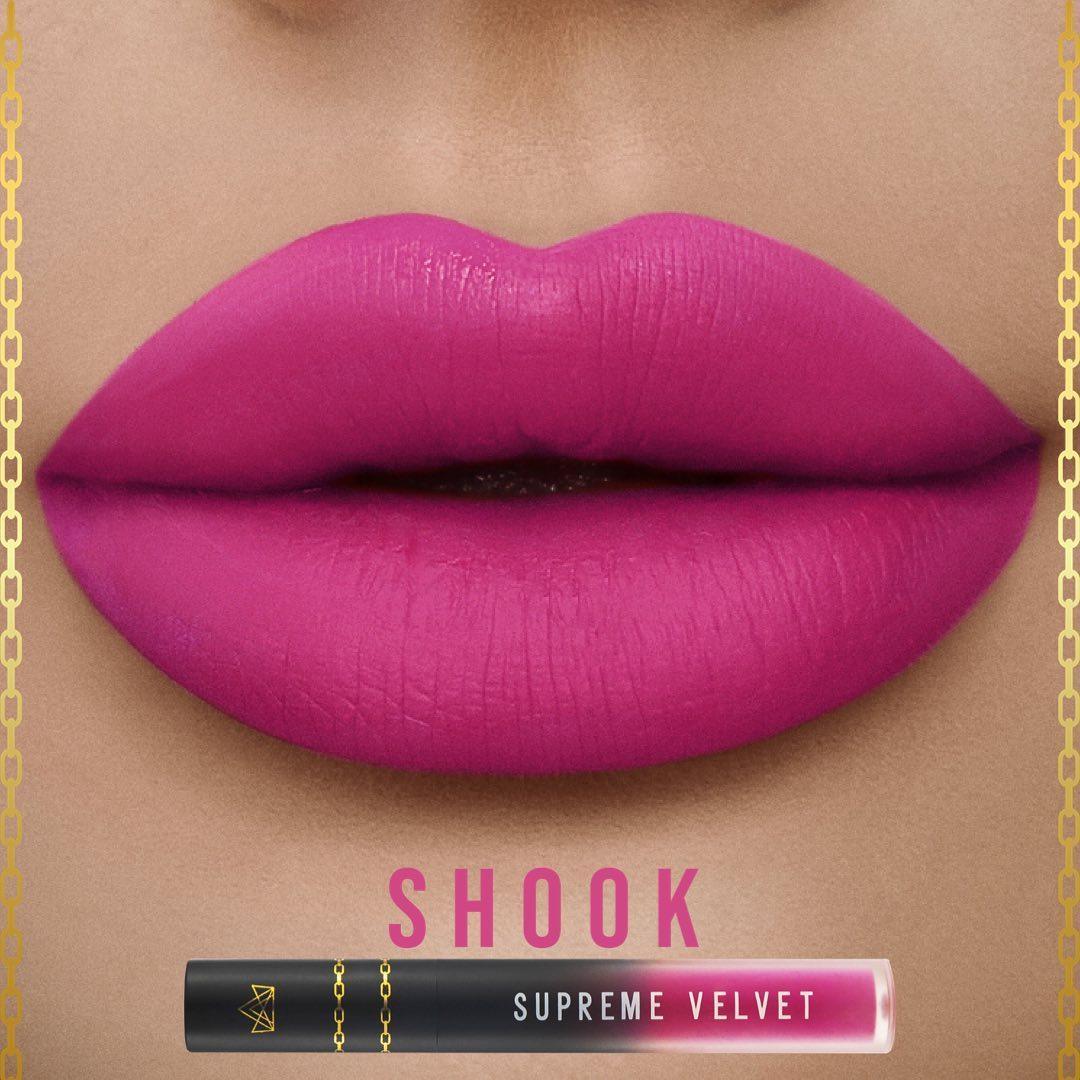 BPerfect Cosmetics Supreme Velvet Liquid Matte Lipstick In Shook