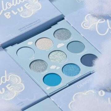 Colourpop Holiday 2020 On Cloud Blue Shadow Palette Promo
