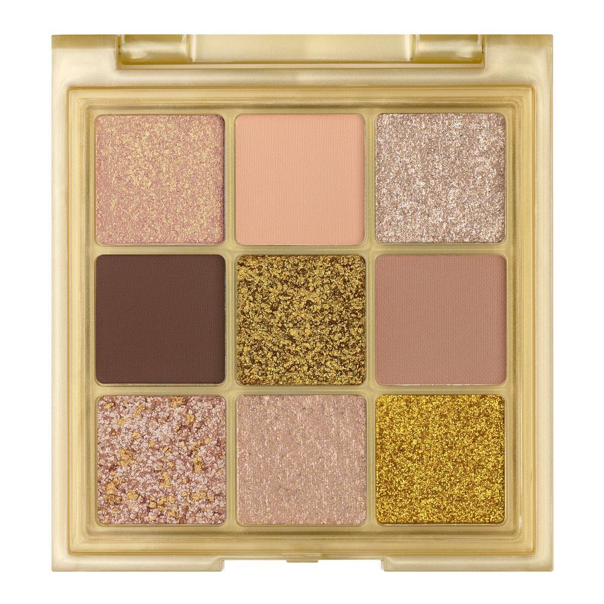Huda Beauty Gold Obsessions Palette Open Front