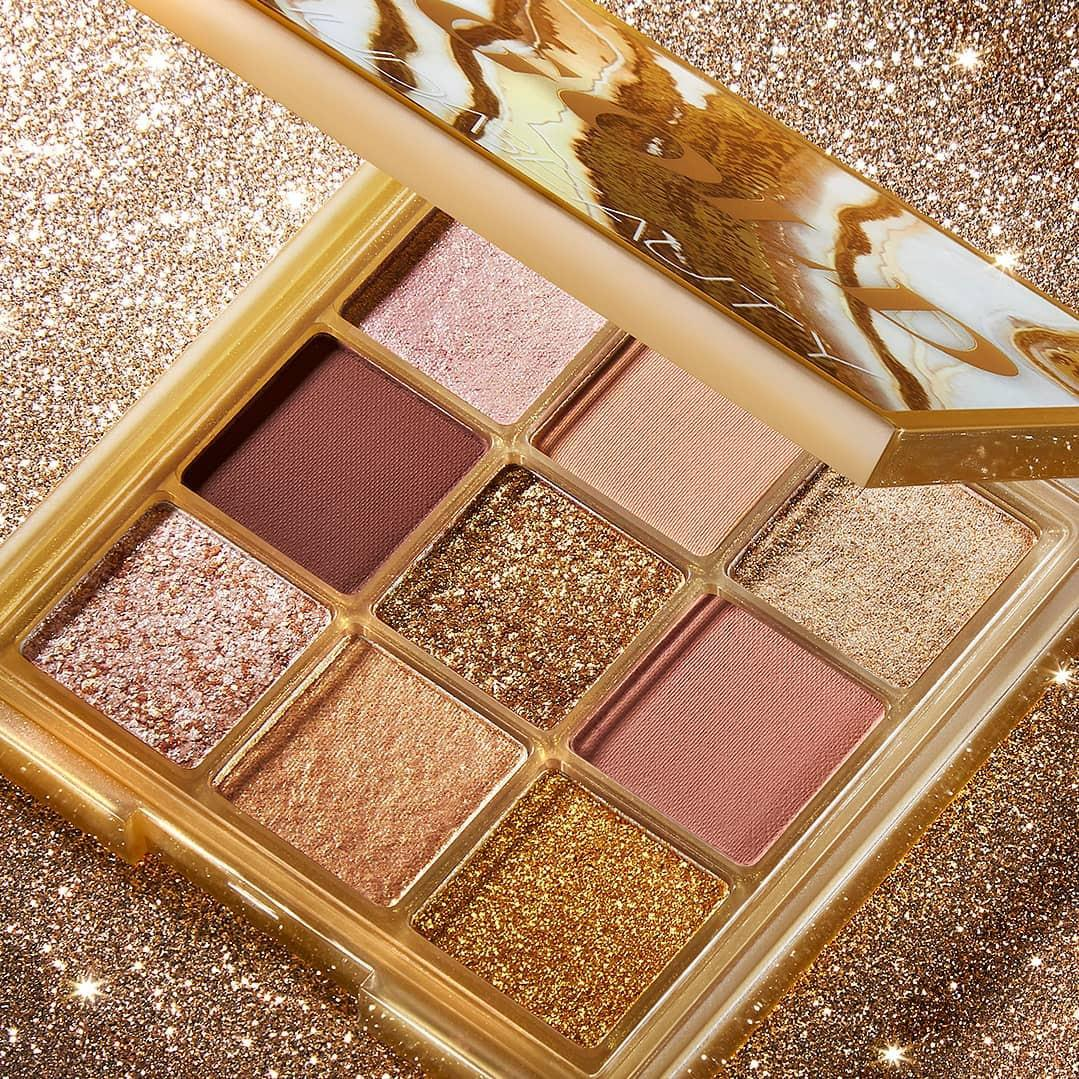 Huda Beauty Gold Obsessions Palette Promo Post Cover