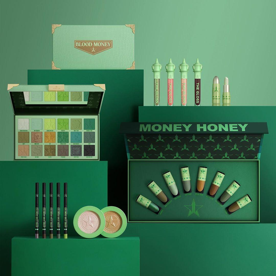 Jeffree Star Cosmetics Blood Money Collection Collection Promo