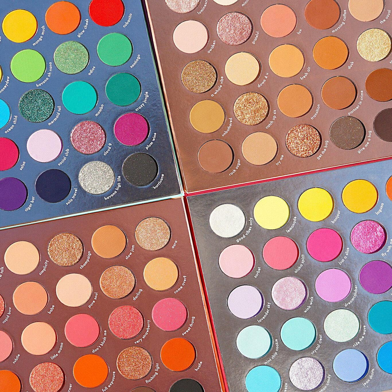 Kara Beauty Pro Shadow Palettes New PRO Palettes PRO9 12 Open Top Promo Post Cover