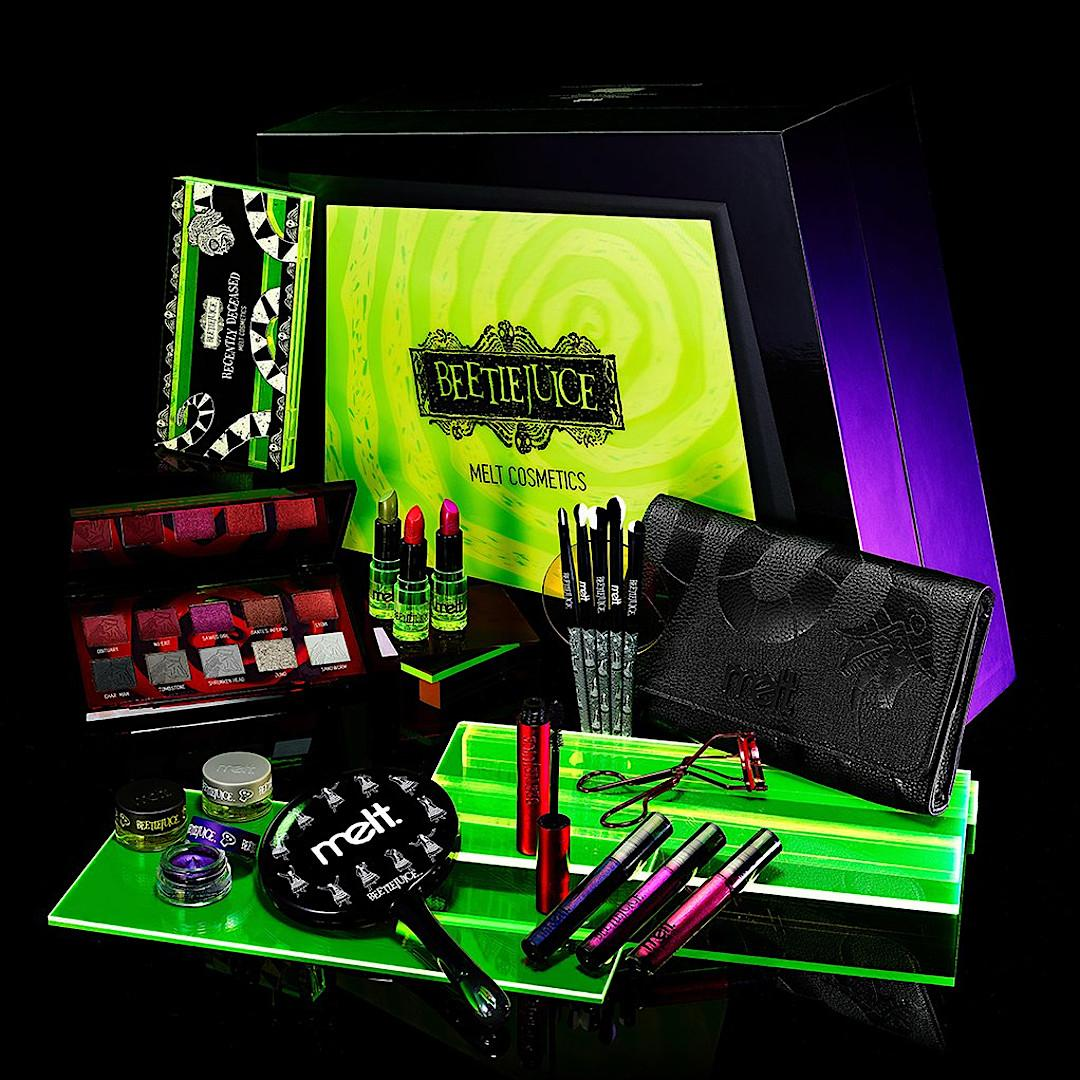 Melt Cosmetics x Beetlejuice Collection Full Collection Promo
