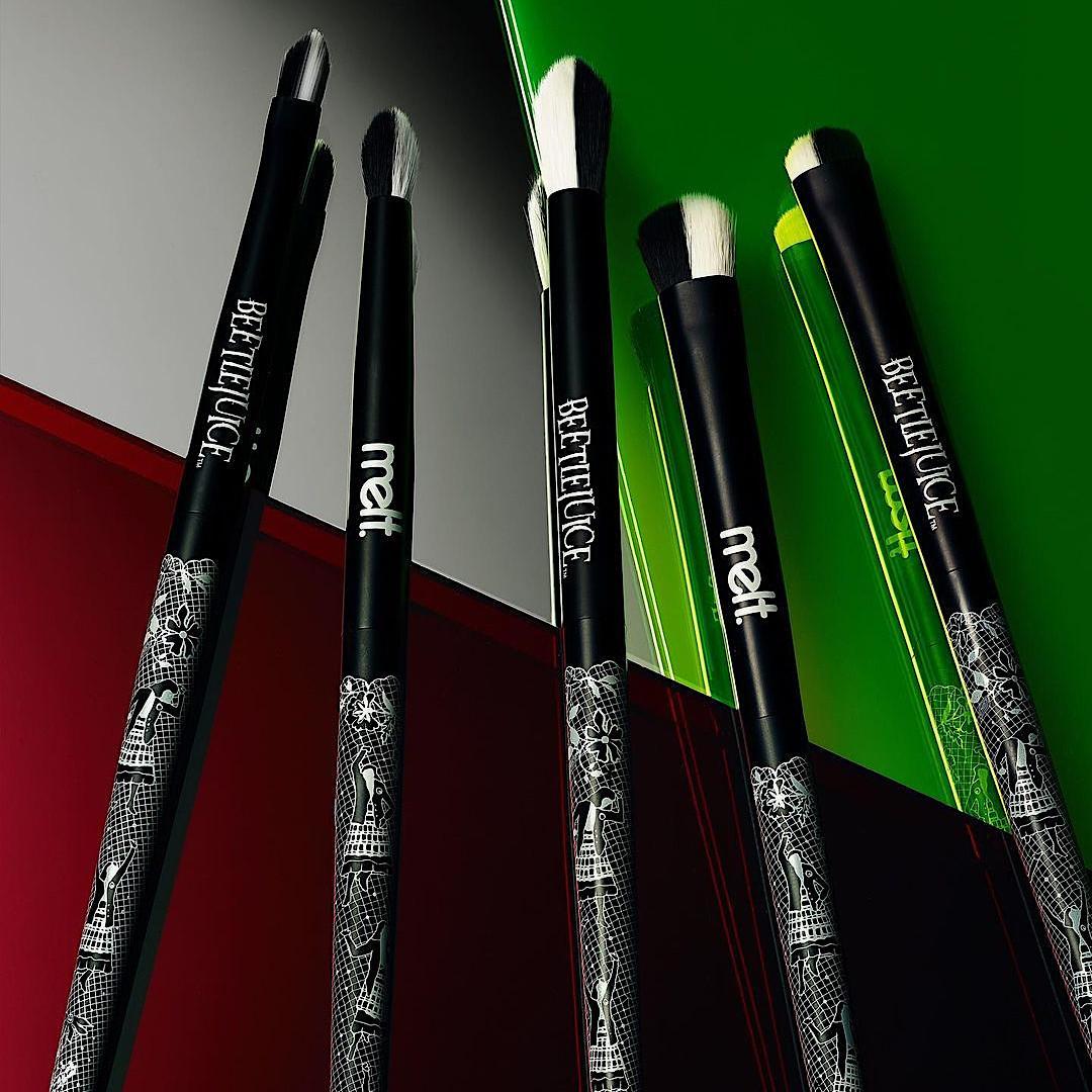Melt Cosmetics x Beetlejuice Collection Lydia Brush Set Promo