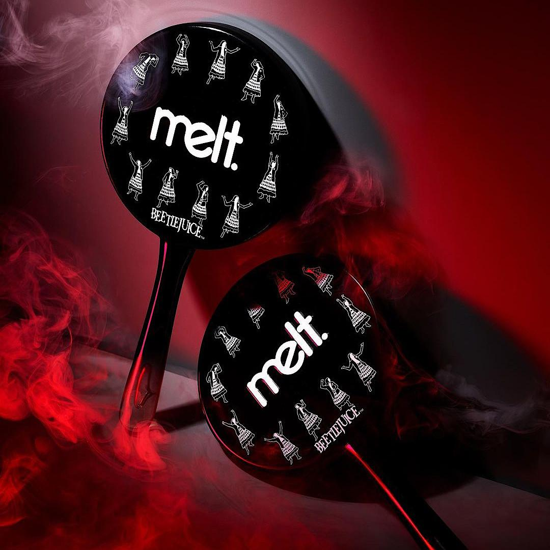 Melt Cosmetics x Beetlejuice Collection Lydia Mirror Promo