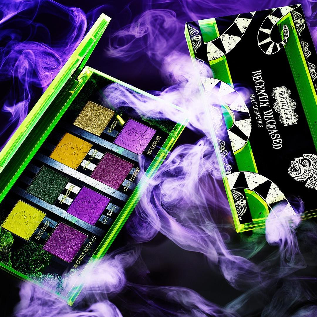 Melt Cosmetics x Beetlejuice Collection Recently Deceased Palette