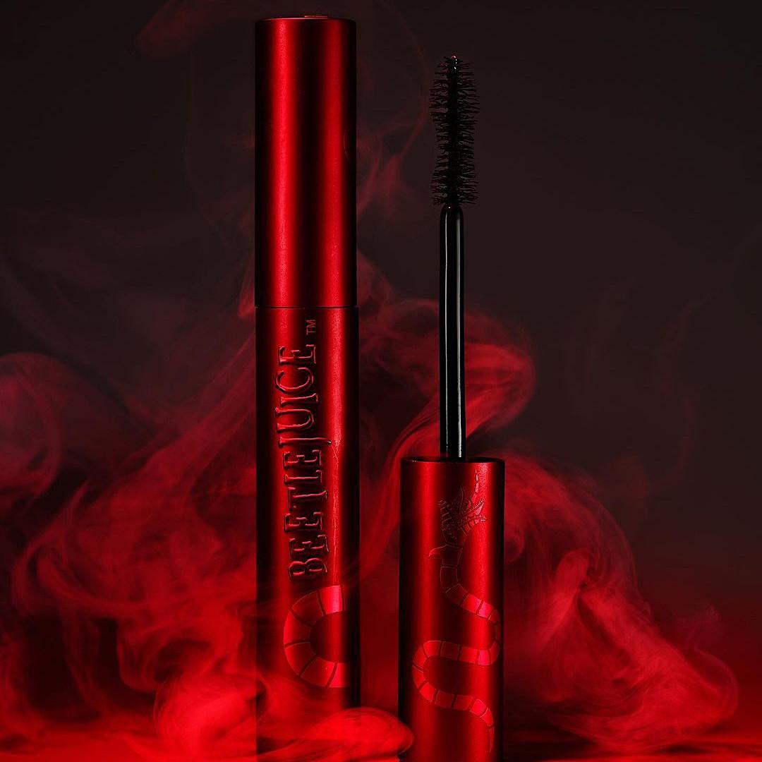 Melt Cosmetics x Beetlejuice Collection Supernatural Lash Mascara Promo