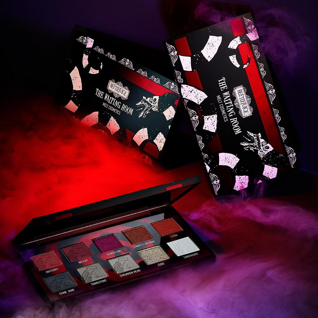 Melt Cosmetics x Beetlejuice Collection The Waiting Room Palette