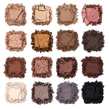 Nabla Cosmetics Side By Side Collection Side By Side Nude Palette Crash Swatches