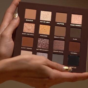 Nabla Cosmetics Side By Side Collection Side By Side Nude Palette Open Promo