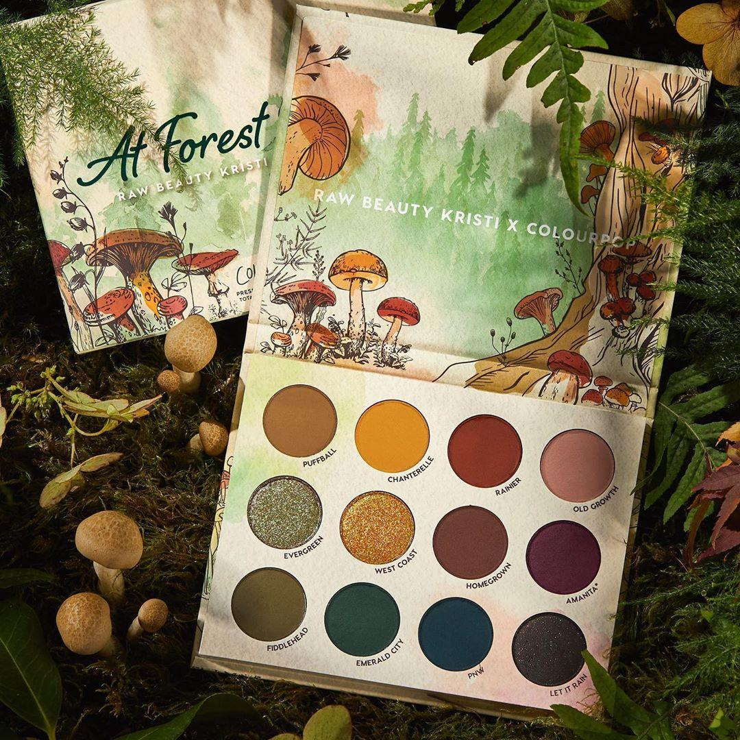Raw Beauty Kristi x Colourpop At Forest Sight Palette