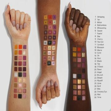Sample Beauty The Equalizer Palette Vol II Arm Swatches