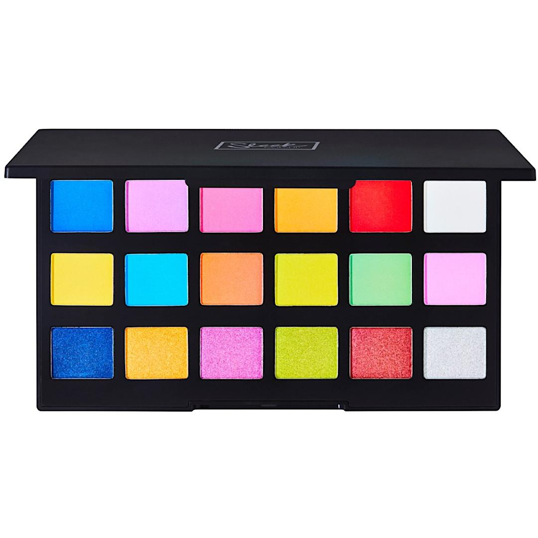 Sleek Makeup Lucid Dreams Collection Acid Bright Eyeshadow Palette Open Product