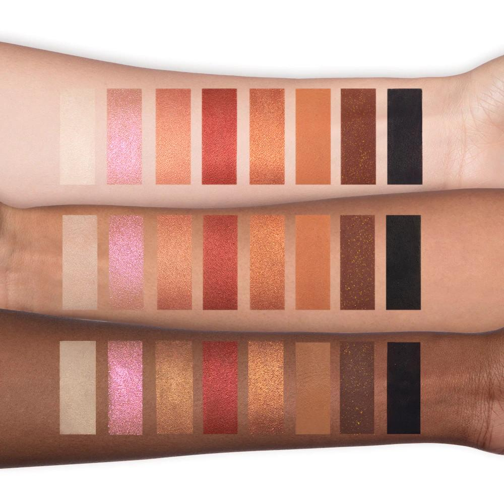 Too Faced New Mini Palettes Kitty Likes To Scratch On The Fly Eye Shadow Palette Arm Swatches