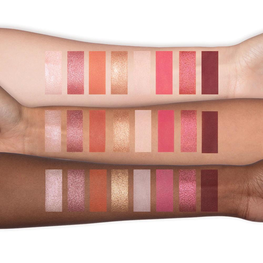 Too Faced New Mini Palettes Let's Play On The Fly Eye Shadow Palette Arm Swatches