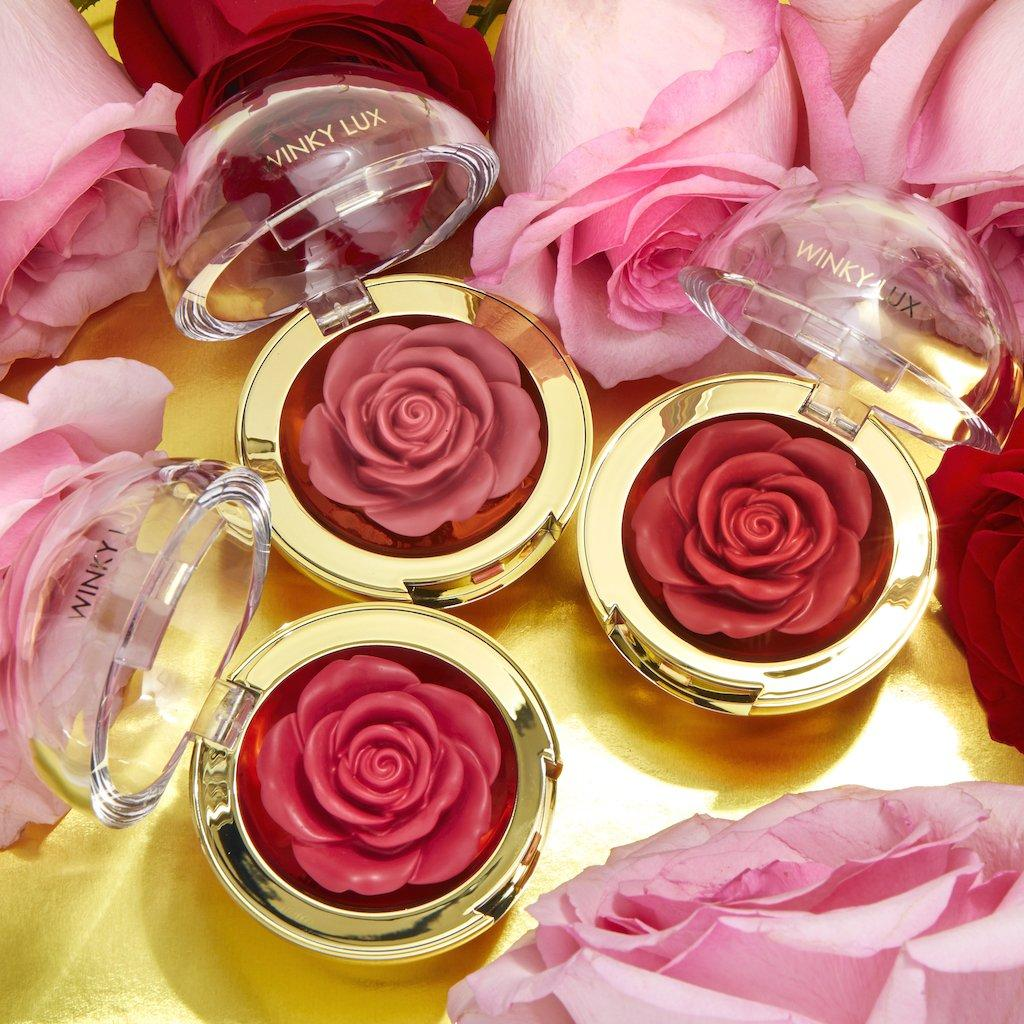 Winky Lux Cheeky Rose Blush Promo Post Cover