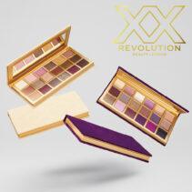 Paletas Bare LuXX y Decadent LuXX de XX Revolution