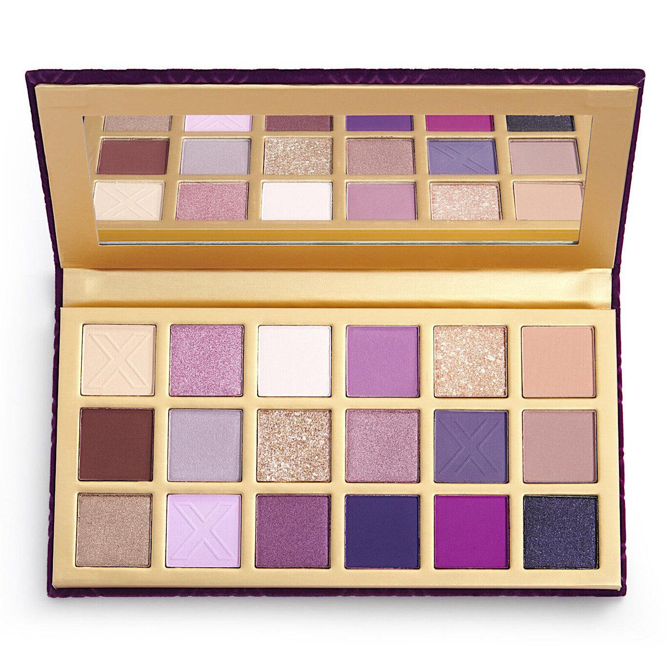 XX Revolution LuXX Eyeshadow Palette Decadent LuXX Open