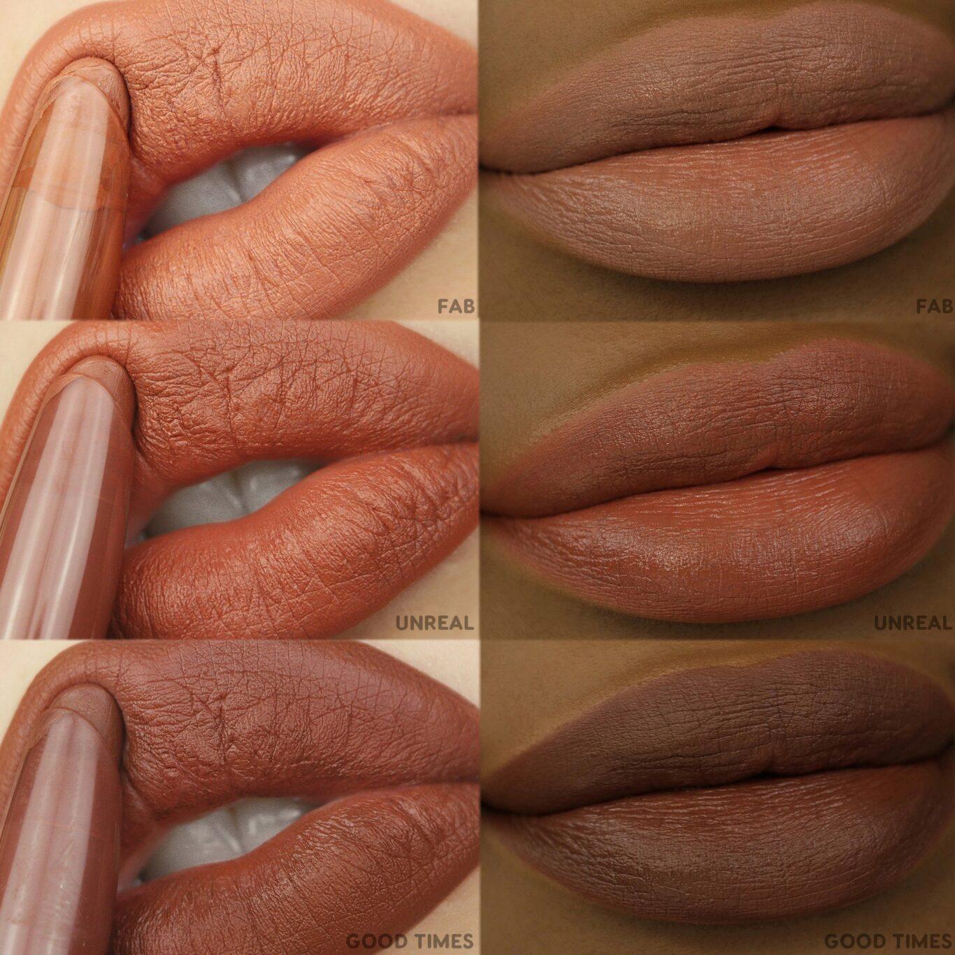 Colourpop Big Poppy Collection Lippie Stix Lip Swatches