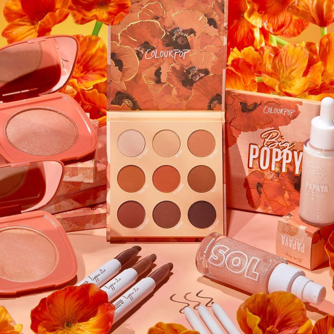 Colourpop Big Poppy Collection Post Cover