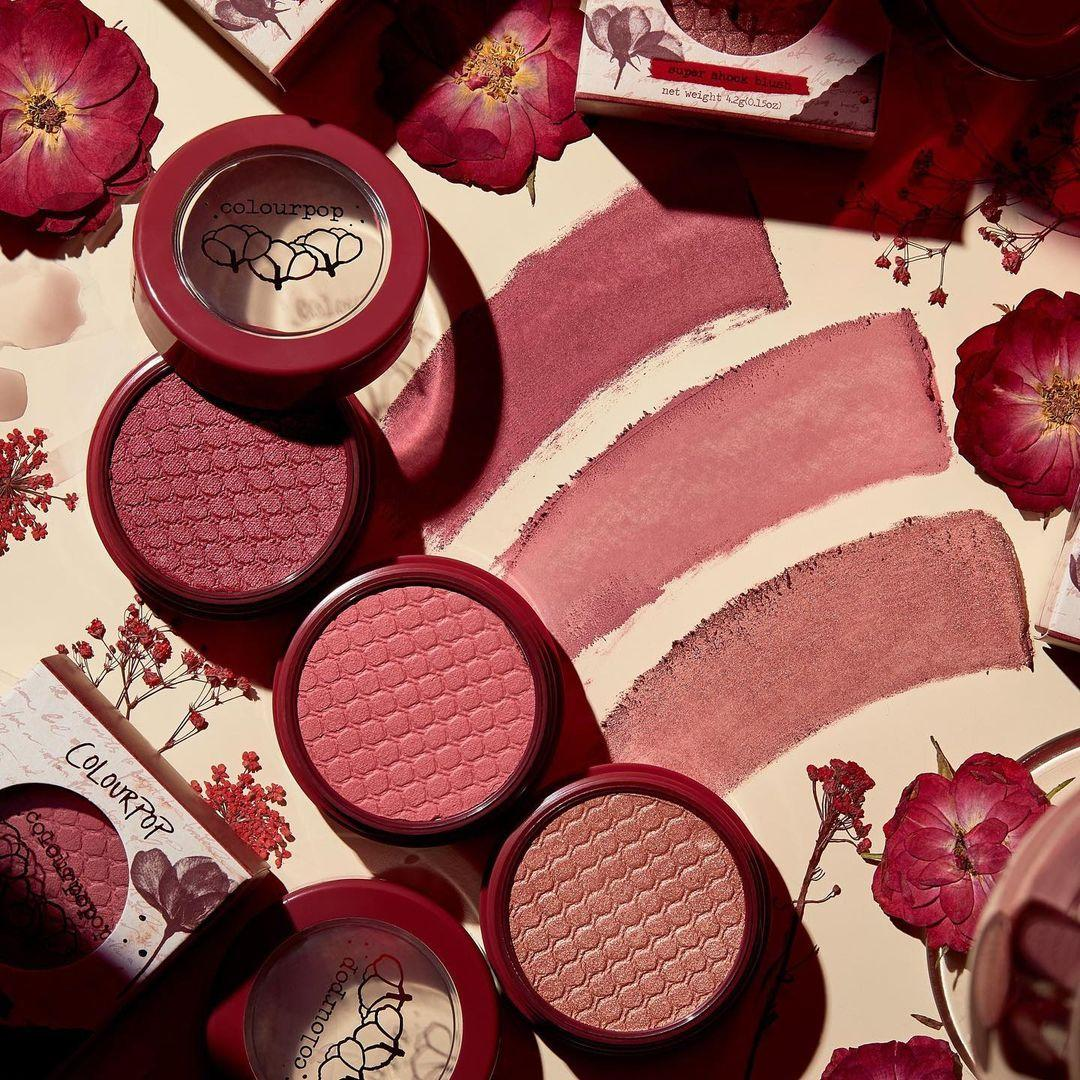 Coloutpop Wine Collection Super Shock Blushes in Brut Flute, Cruel Intentions, Cheerio Promo
