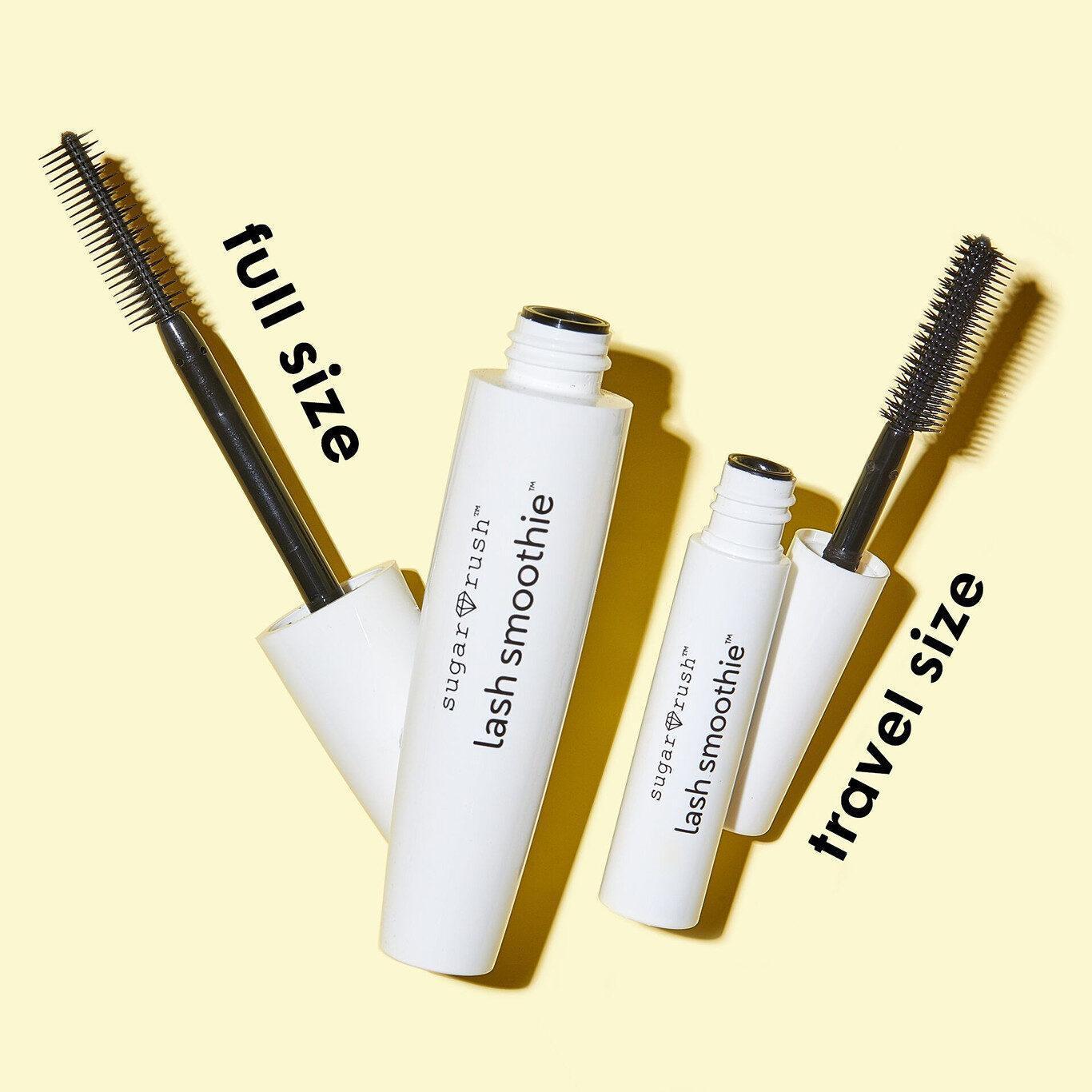 Lash Smoothie™ Volumizing Hemp Mascara Poduct Full Size & Travel Size