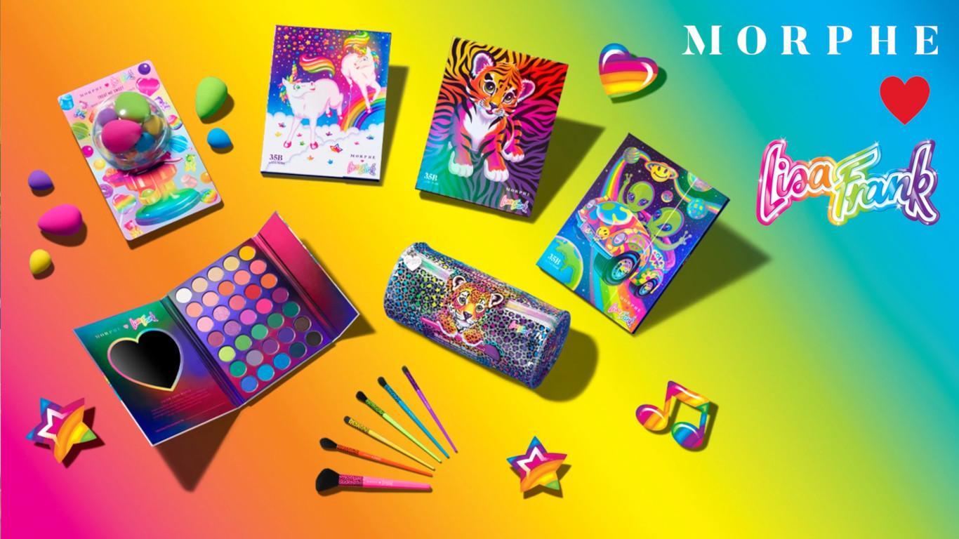 Morphe x Lisa Frank Blog Post Cover