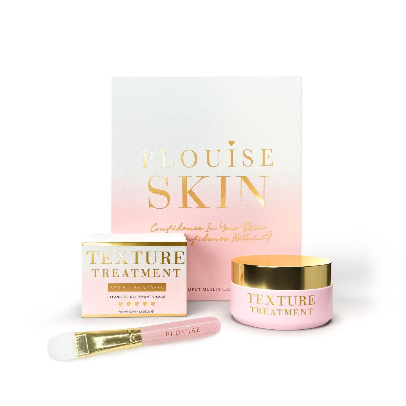 Plouise Skin Texture Treatment and Muslin Cloth