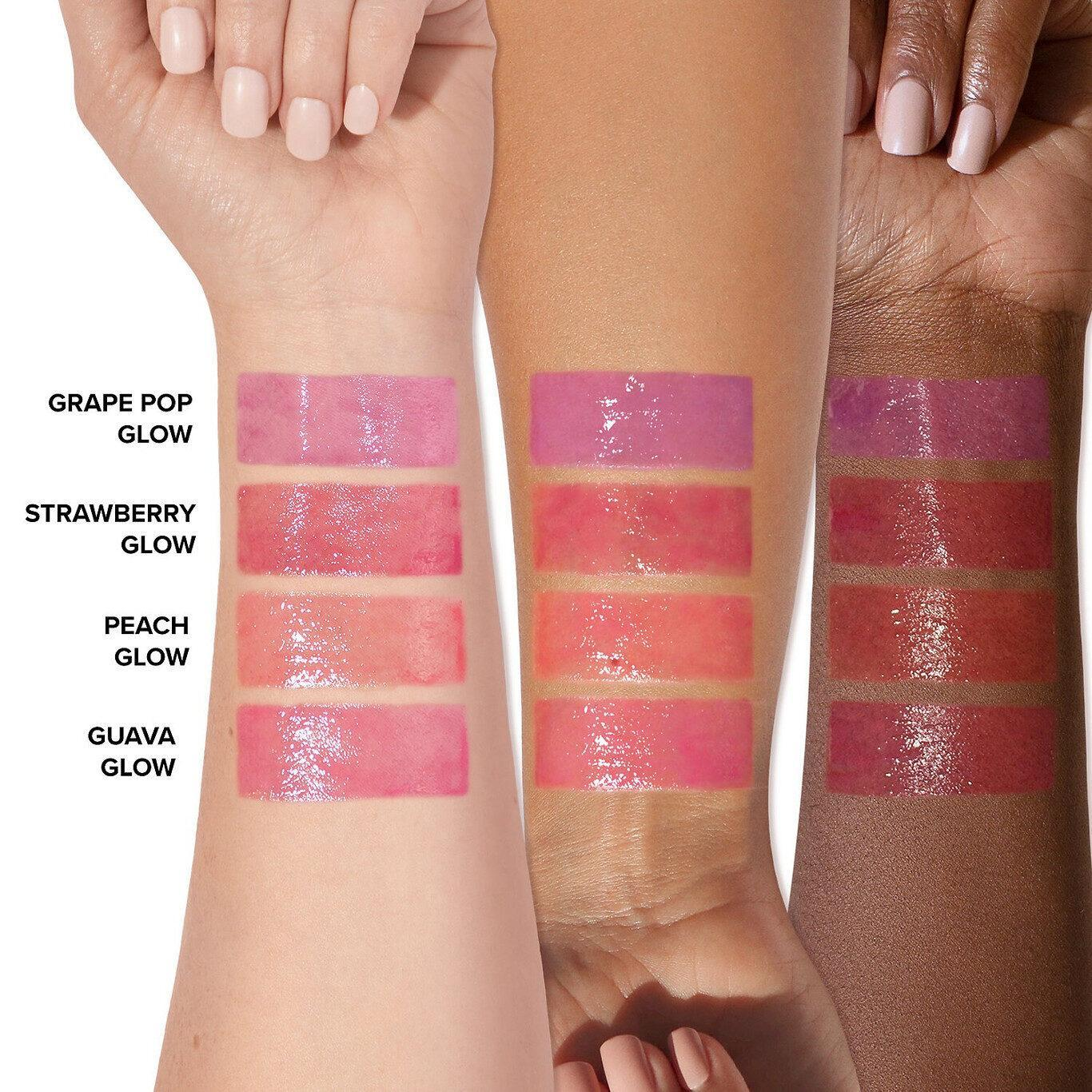 Too Faced Peach Bloom Color Blossoming Lip & Cheek Tint Arm Swatches