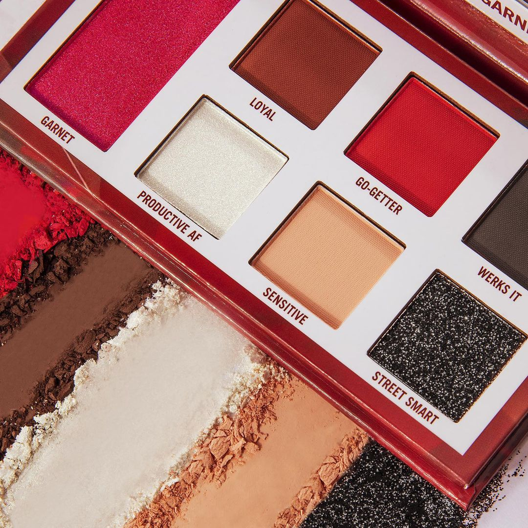 BH Cosmetics Birthstone Collection Garnet for January Promo Open With Crash Swatches Post Cover