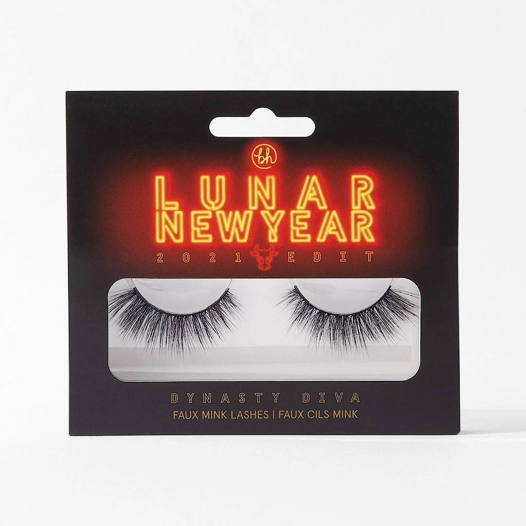 BH Cosmetics Lunar New Year 2021 Edit Faux Mink Lashes Dynasty Diva Box