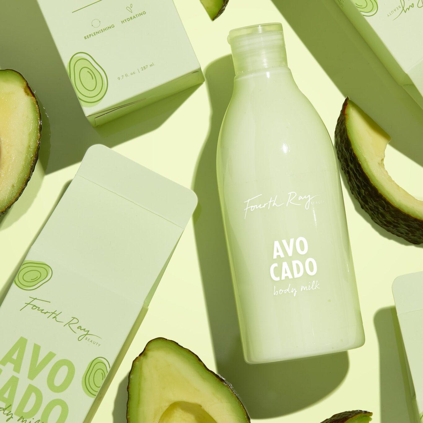 Fourth Ray Beauty Body Milks Avocado