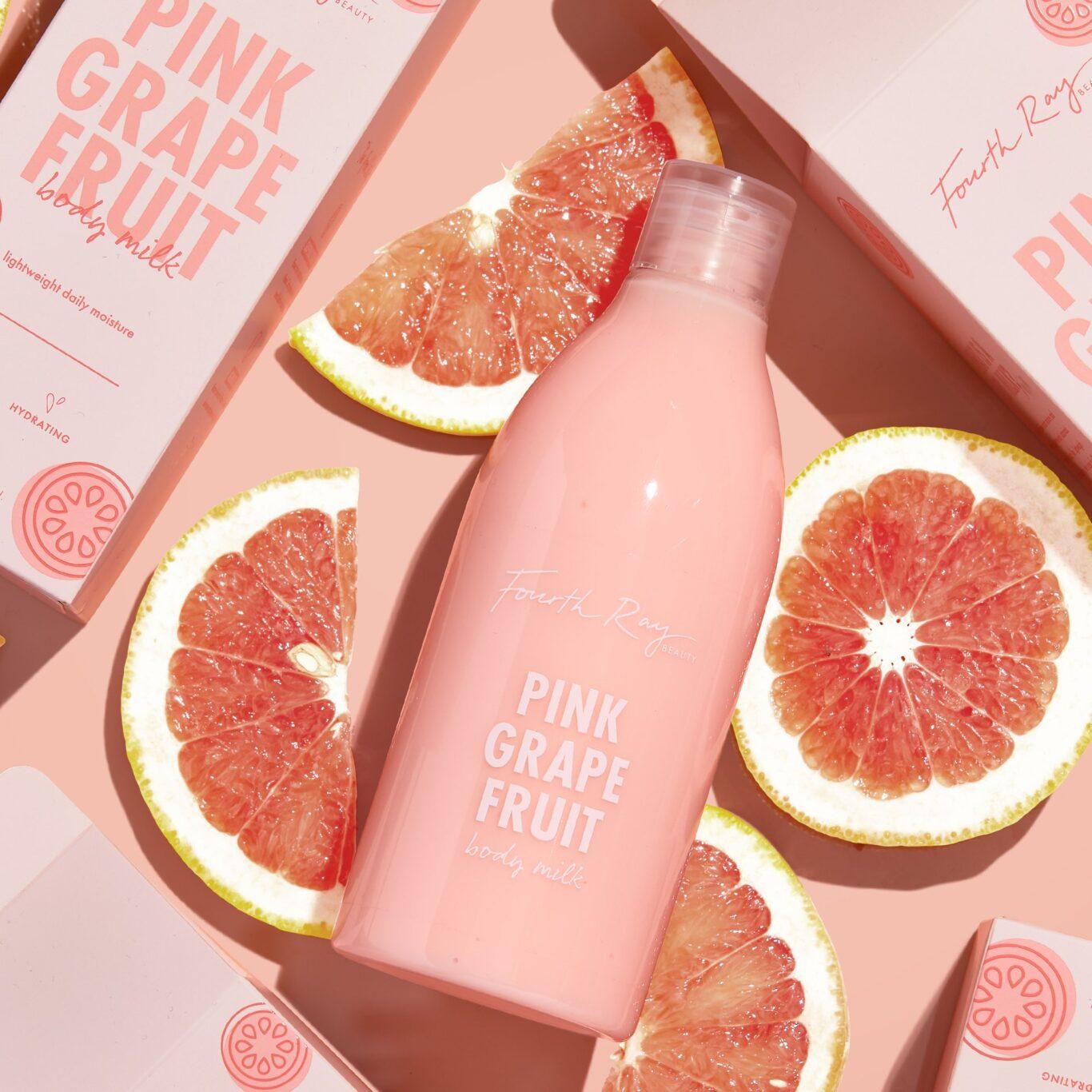 Fourth Ray Beauty Body Milks Pink Grapefruit
