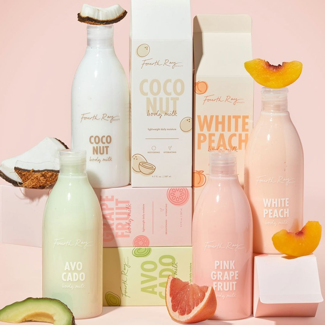 Fourth Ray Beauty Body Milks Promo Post Cover