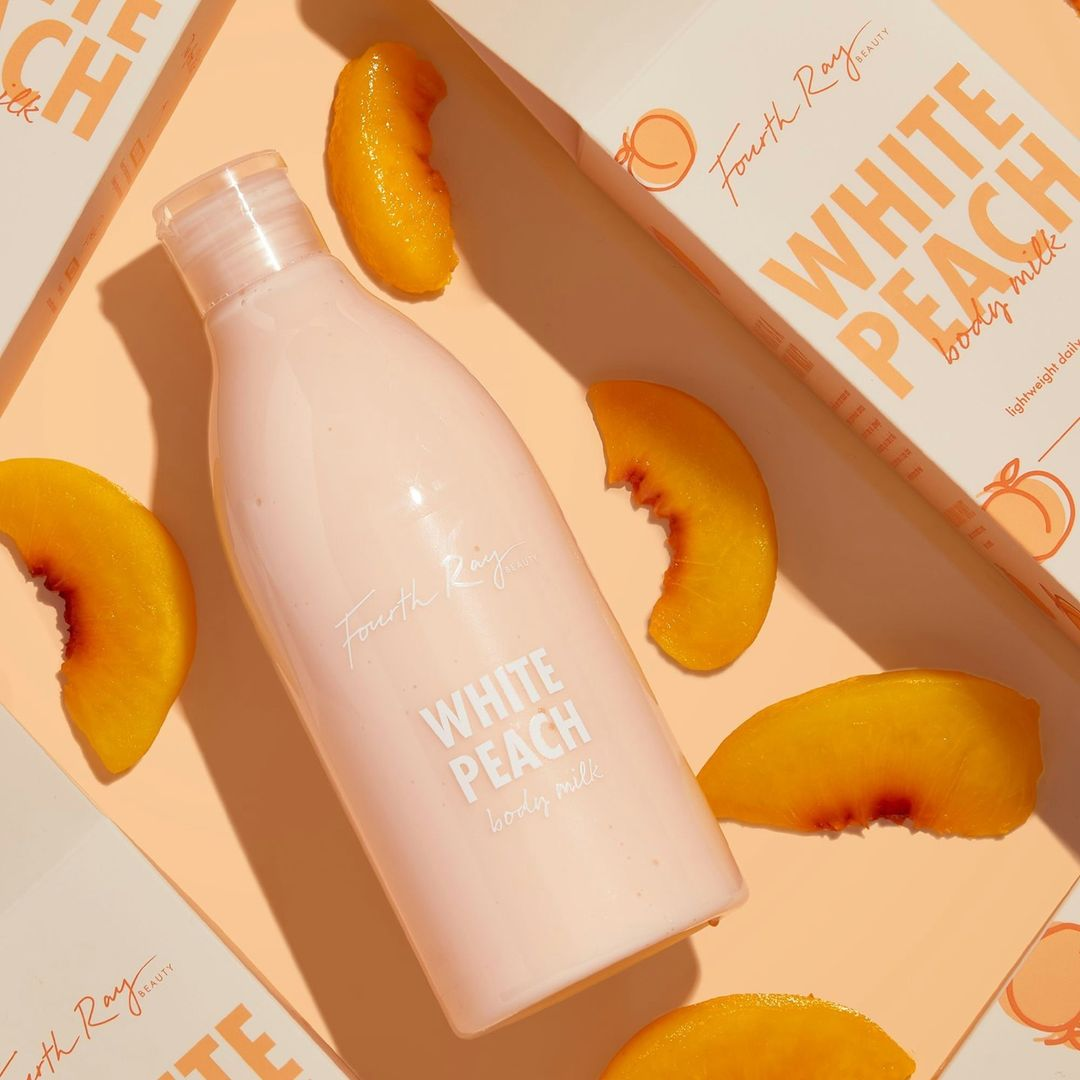 Fourth Ray Beauty Body Milks White Peach