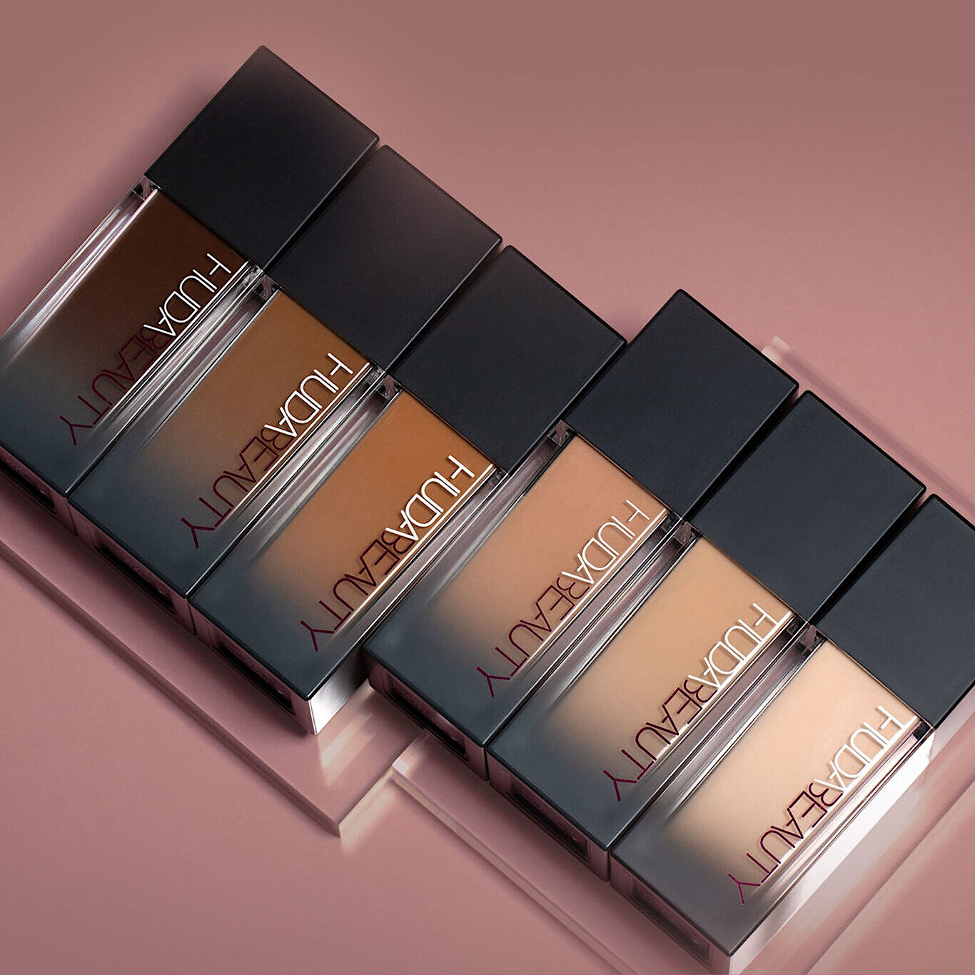 Huda Beauty FauxFilter Luminous Matte Foundation Coming Soon Promo Alt Closer Without Text