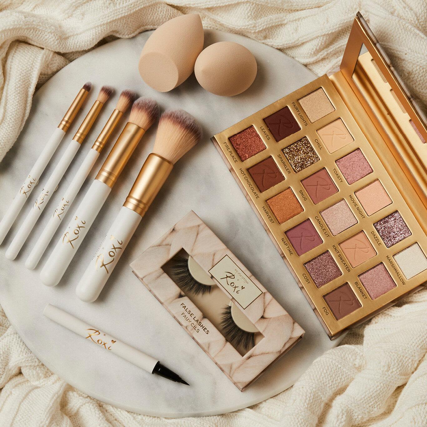 Makeup Revolution x Roxi Cosy Collection Promo