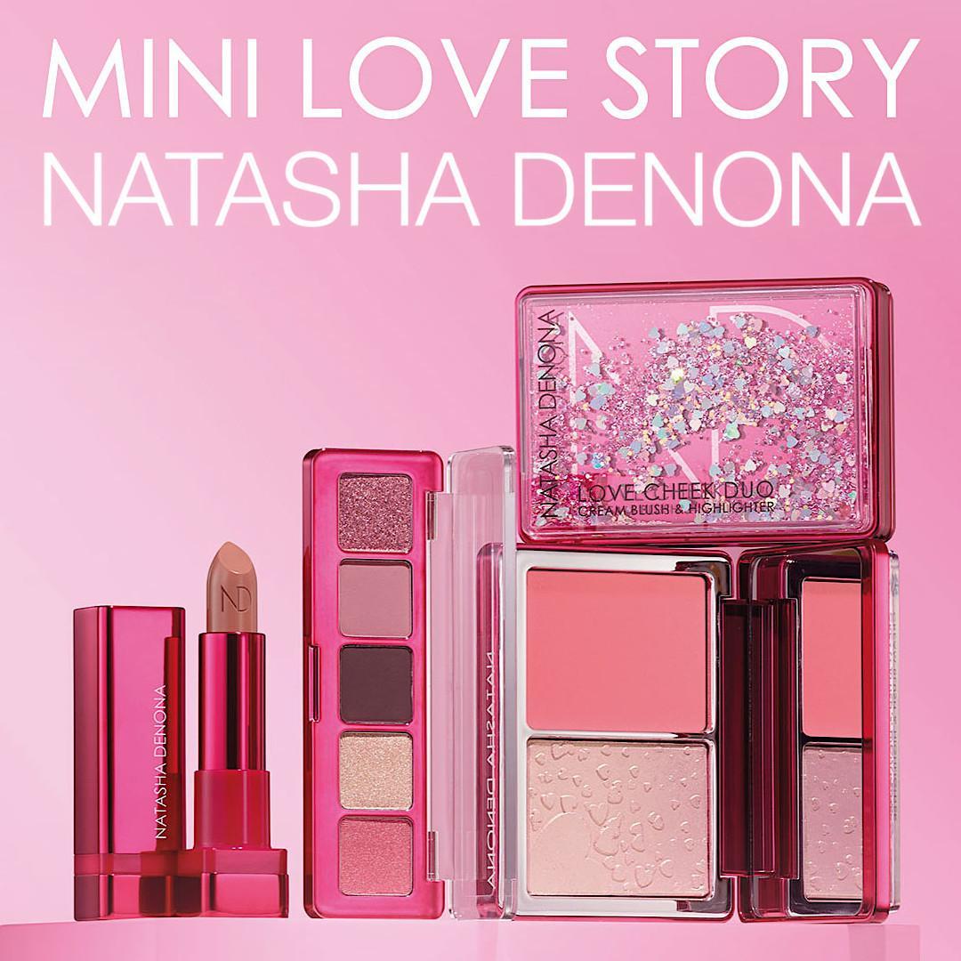 Natasha Denona Mini Love Story Promo Post Cover Title & Logo