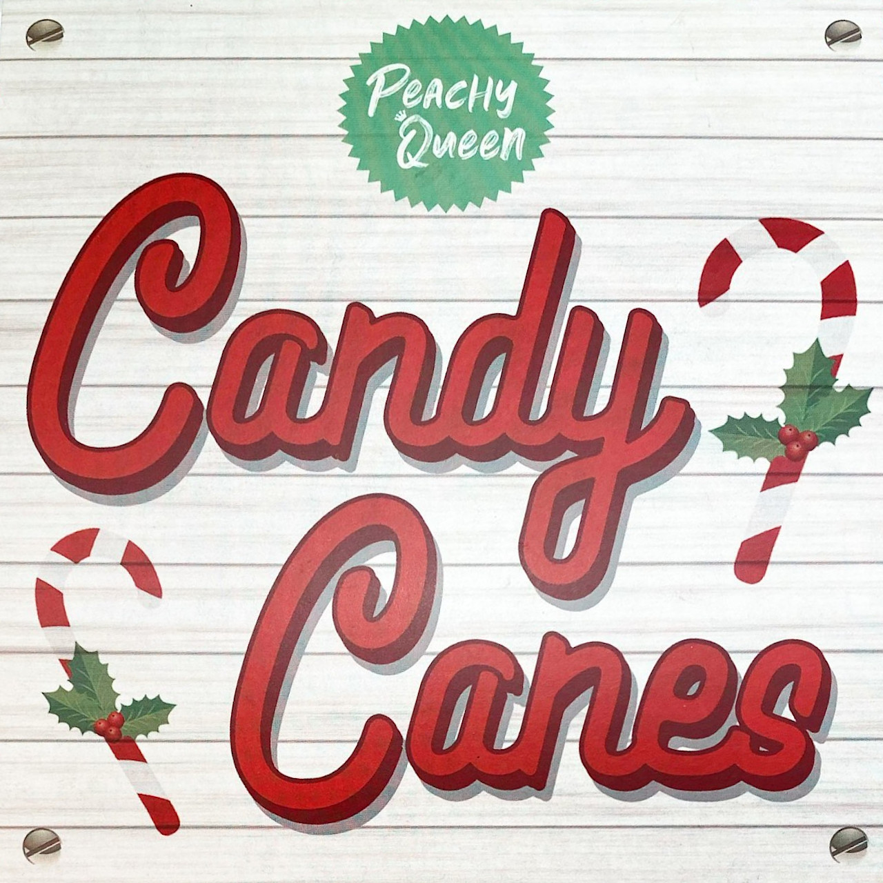 Peachy Queen Candy Canes Palette Cover Closer