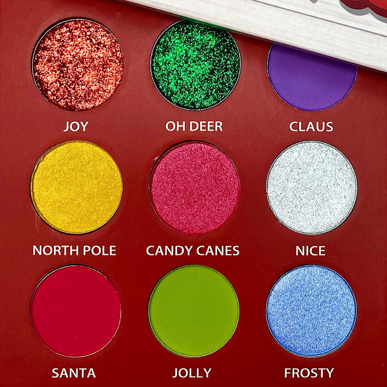 Peachy Queen Candy Canes Palette Open Closer