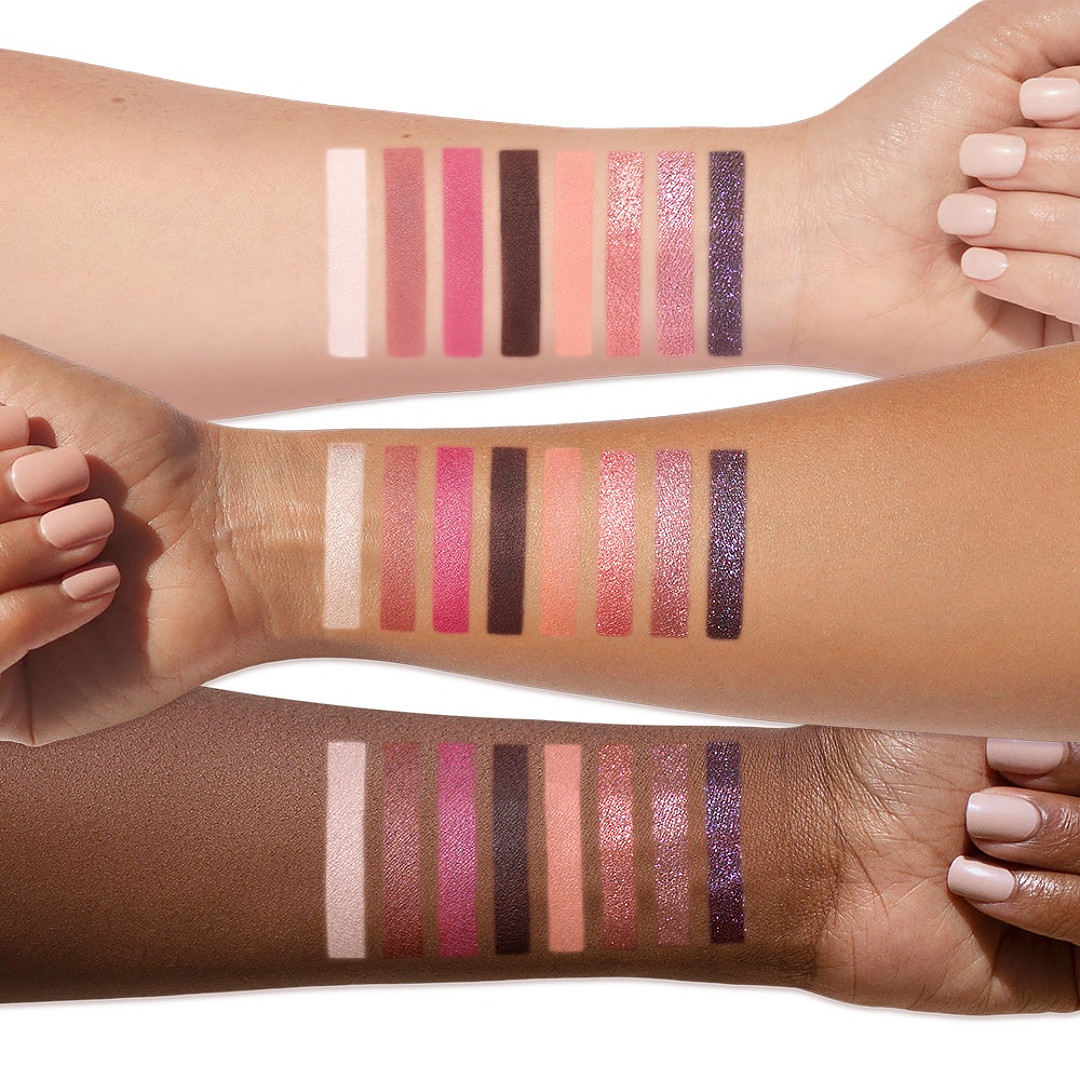 Too Faced Be My Lover Eyeshadow Palette Arm Swatches