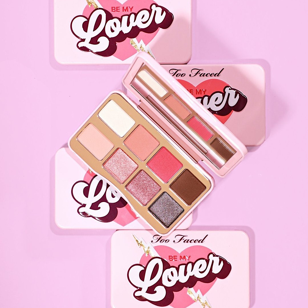 Too Faced Be My Lover Eyeshadow Palette Promo Post Cover