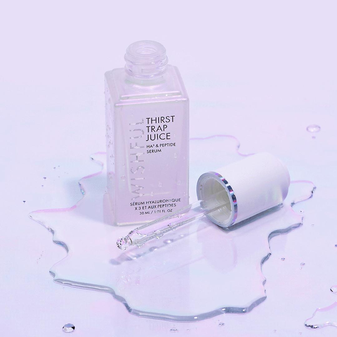 Wishful Skin Thirst Trap Juice HA3 Peptide Serum Open Web Promo