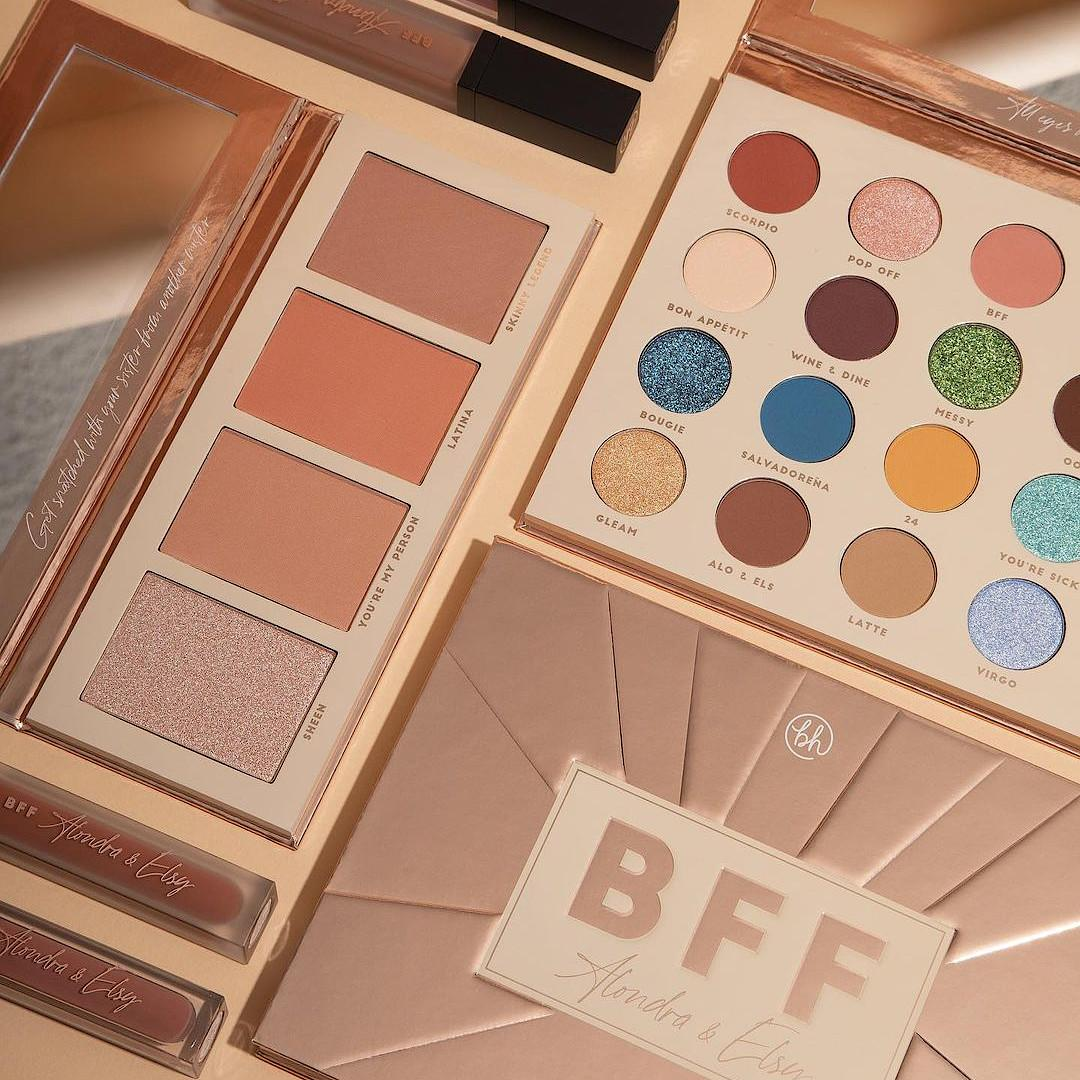BH Cosmetics BFF Alonda & Elsy Collection Promo Post Cover
