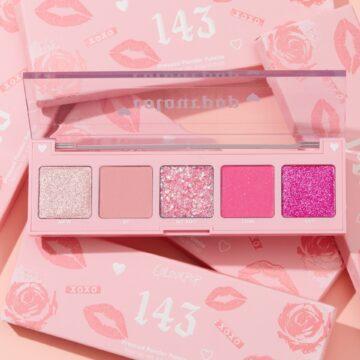Colourpop Cosmetics Valentine's Day Collection 2021 5 Pan Eyeshadow Palette 143