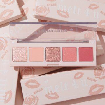 Colourpop Cosmetics Valentine's Day Collection 2021 5 Pan Eyeshadow Palette Melt 4 U