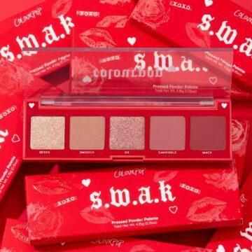Colourpop Cosmetics Valentine's Day Collection 2021 5 Pan Eyeshadow Palette SWAK