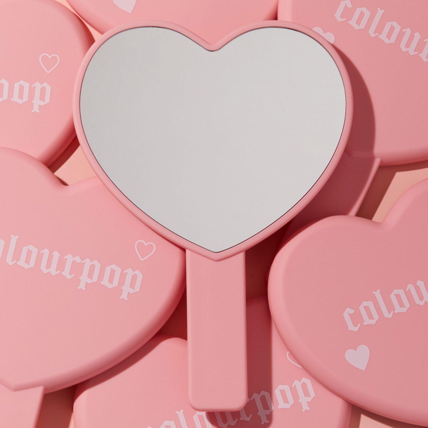 Colourpop Cosmetics Valentine's Day Collection 2021 Heart Mirror